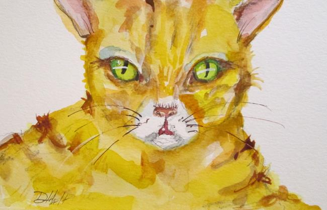 Art: Yellow Tabby by Artist Delilah Smith