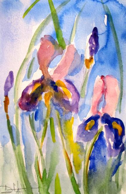 Art: Iris No. 7 by Artist Delilah Smith