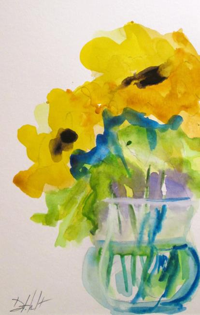 Art: Vase of Flowers No. 3 by Artist Delilah Smith