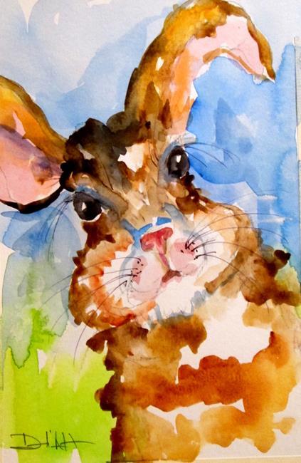 Art: Rabbit No. 5 by Artist Delilah Smith