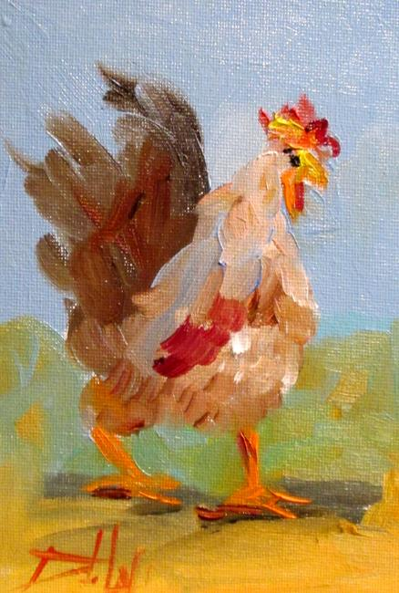 Art: Rooster No. 48 by Artist Delilah Smith
