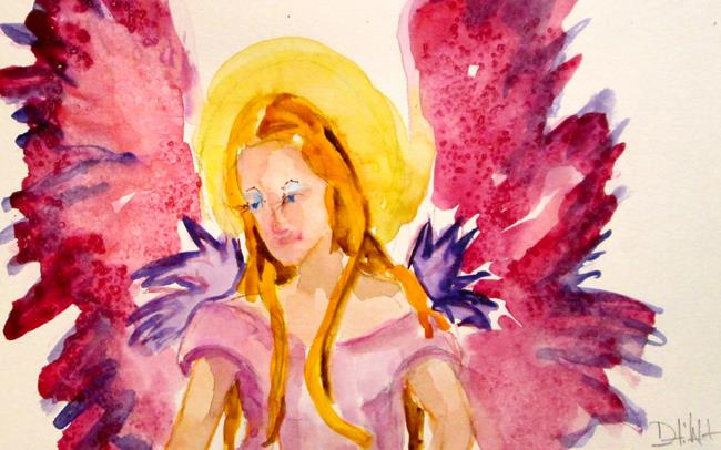 Art: Angel No. 28 by Artist Delilah Smith