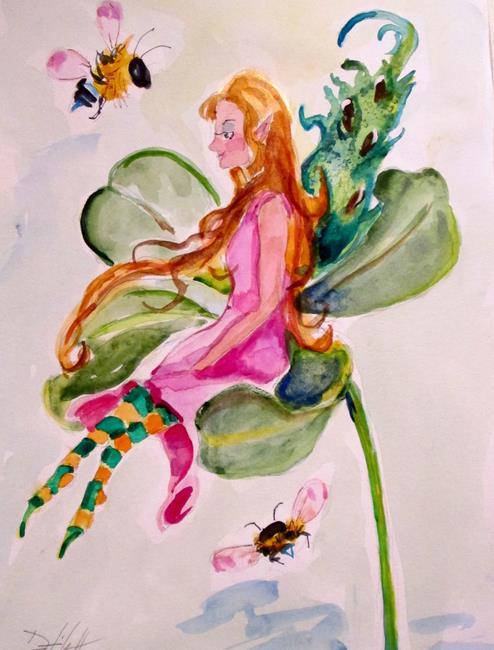Art: Shamrock Fairy by Artist Delilah Smith