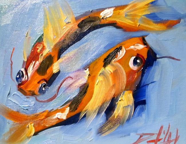 Art: Koi No. 21 by Artist Delilah Smith