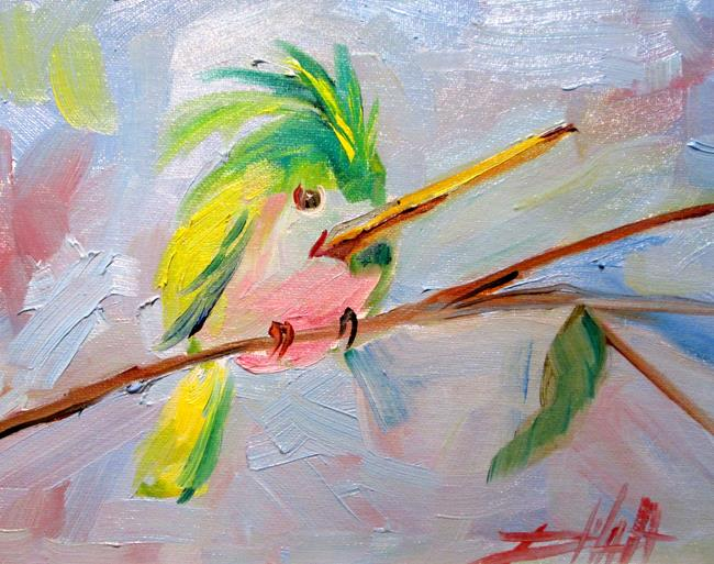 Art: Hummingbird No. 19 by Artist Delilah Smith