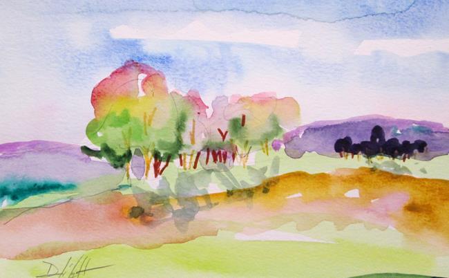 Art: Scenic Landscape by Artist Delilah Smith