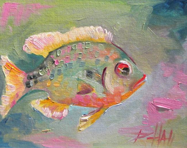 Art: Fish No. 3 by Artist Delilah Smith