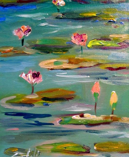 Art: Lily Pads No. 2 by Artist Delilah Smith