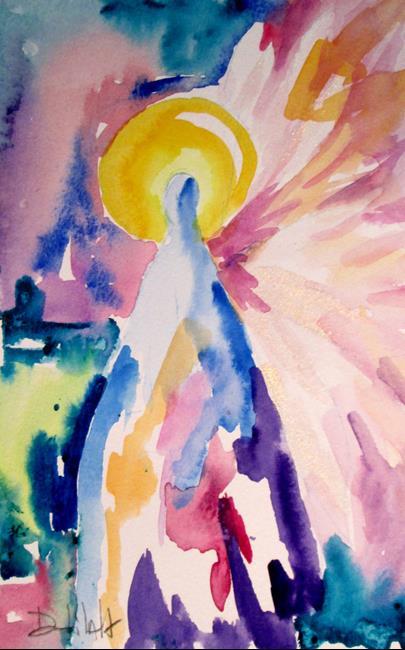 Art: Archangel by Artist Delilah Smith