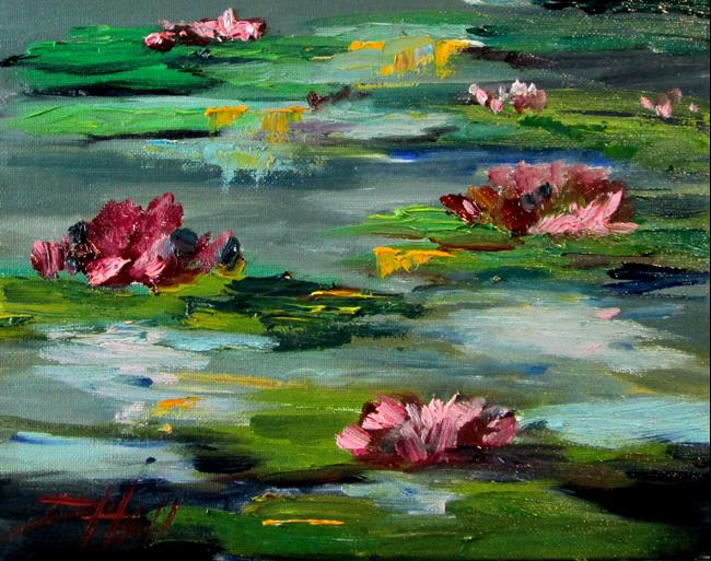 Art: Lily Pads No. 3 by Artist Delilah Smith