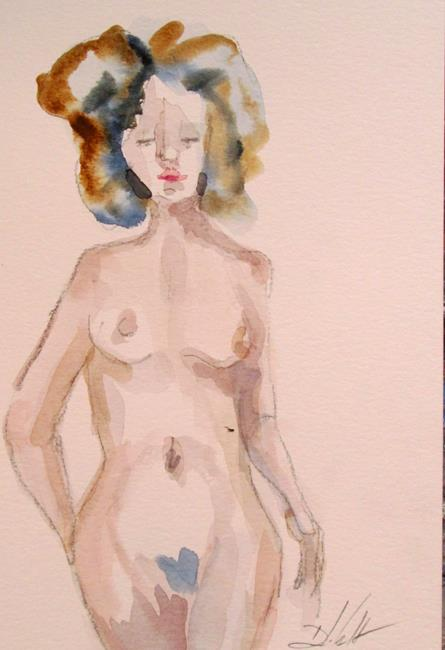 Art: Nude No. 10 by Artist Delilah Smith