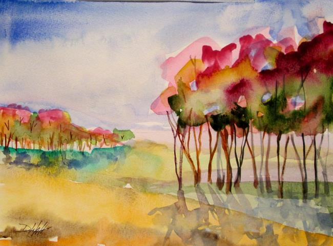 Art: Cherry Blossom by Artist Delilah Smith