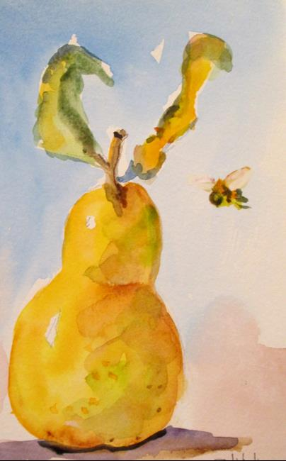 Art: Pear No. 10 by Artist Delilah Smith
