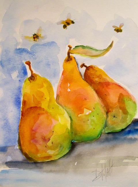 Art: Pears No. 4 by Artist Delilah Smith