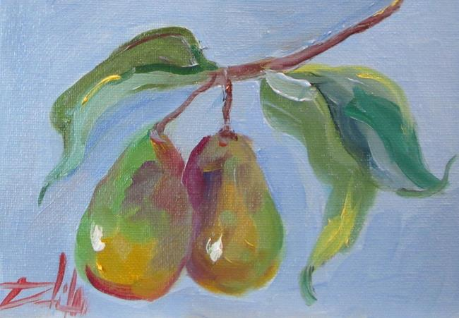 Art: Pear Tree by Artist Delilah Smith