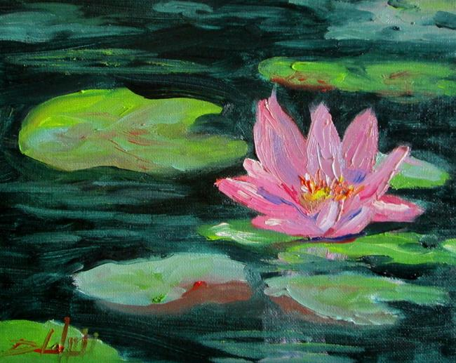 Art: Lily POnd No 10 by Artist Delilah Smith