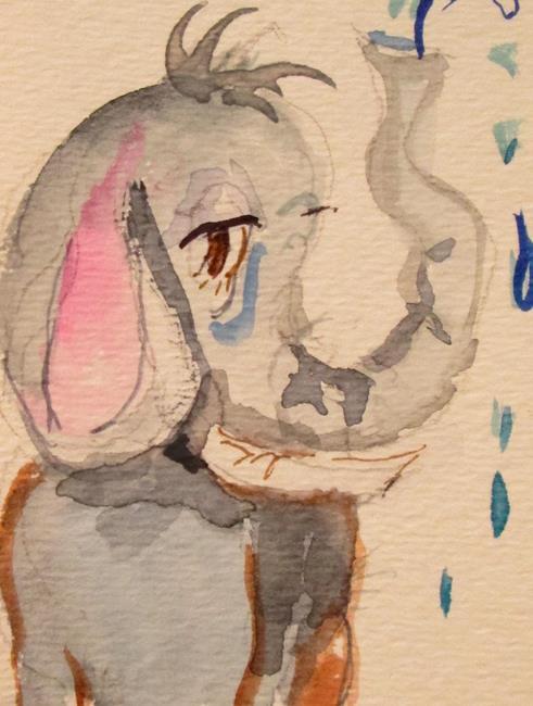 Art: Elephant Show by Artist Delilah Smith