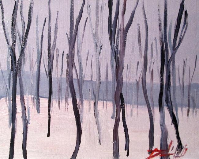 Art: Winter by Artist Delilah Smith