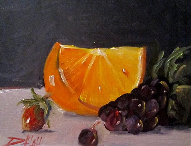 Art: Fruit Still Life No. 4 by Artist Delilah Smith