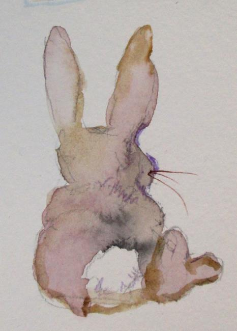 Art: Bunny Rabbit by Artist Delilah Smith