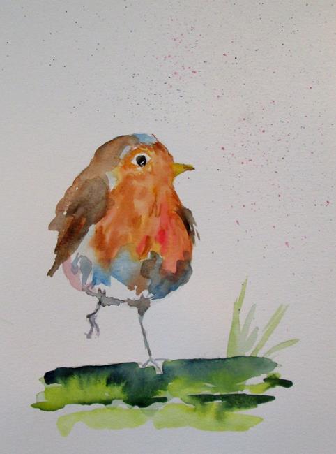 Art: Robin No. 2 by Artist Delilah Smith