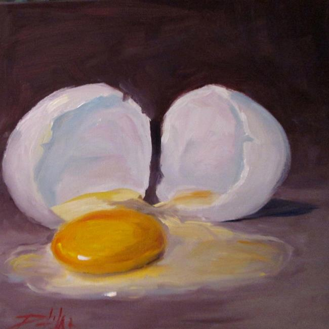 Art: Broken Egg No. 3 by Artist Delilah Smith