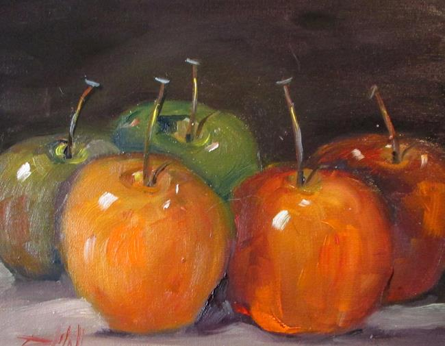 Art: Apples No.26 by Artist Delilah Smith
