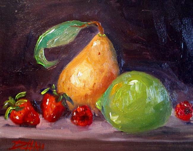 Art: Fruit Still Life No. 6 by Artist Delilah Smith