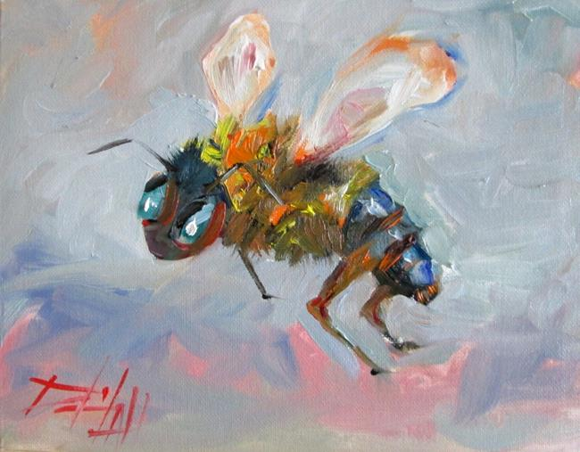 Art: Bee No. 7 by Artist Delilah Smith