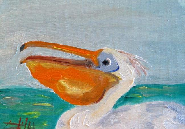 Art: Pelican No. 4 by Artist Delilah Smith