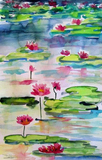 Art: Marsh Lilies by Artist Delilah Smith