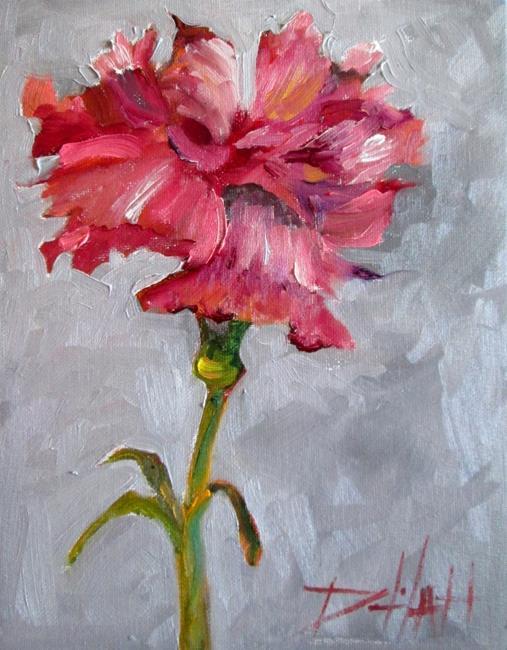 Art: Carnation by Artist Delilah Smith