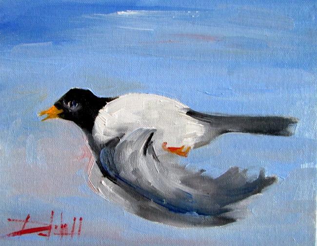 Art: Flying Bird by Artist Delilah Smith