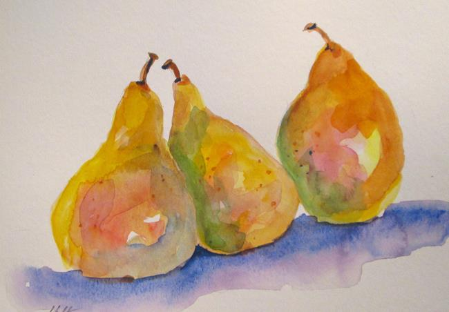 Art: Fancy Pears by Artist Delilah Smith