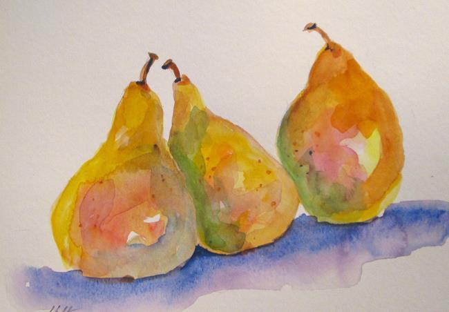 Art: Fancy Pears by Artist Delilah Smith