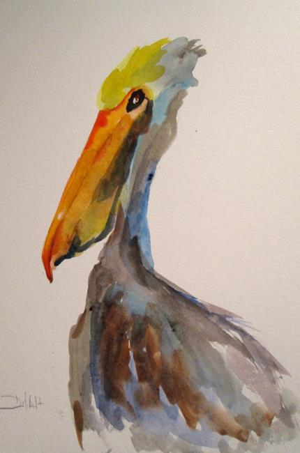 Art: Pelican No. 5 by Artist Delilah Smith