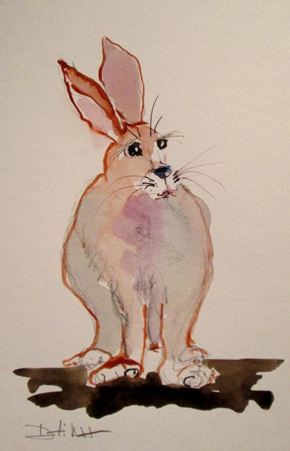 Art: Rabbit No. 6 by Artist Delilah Smith