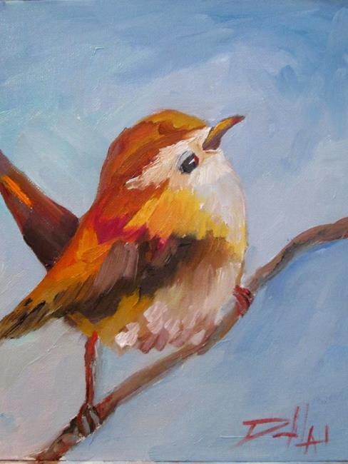 Art: Wren by Artist Delilah Smith