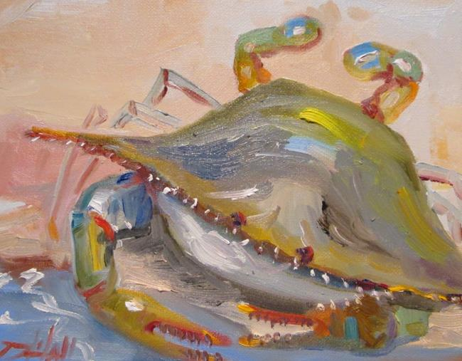Art: Blue Crab No. 21 by Artist Delilah Smith
