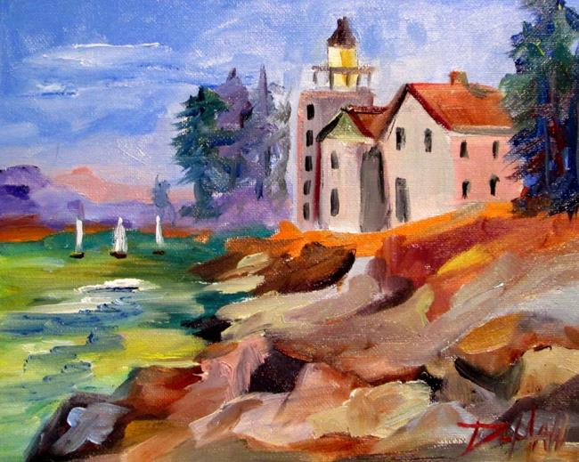Art: Light House by Artist Delilah Smith