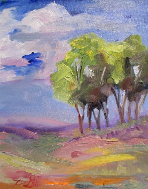 Art: Landscape No.9 by Artist Delilah Smith