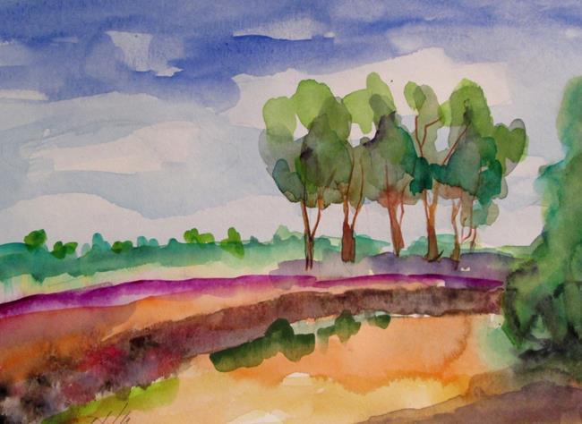 Art: Landscape No.8 by Artist Delilah Smith