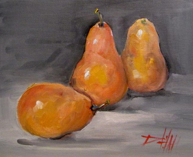 Art: Ripe Pears by Artist Delilah Smith