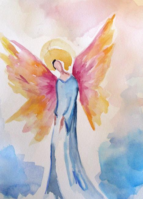Art: Angel No. 31 by Artist Delilah Smith