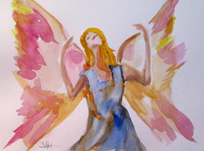 Art: Angel No. 32 by Artist Delilah Smith