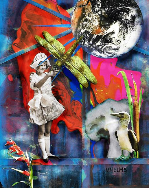 Art: Bernard & Clarabelle by Artist Vicky Helms
