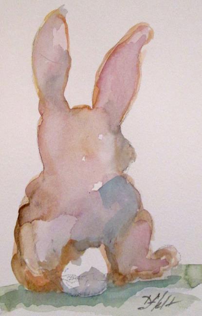 Art: Bunny by Artist Delilah Smith