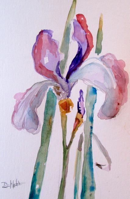 Art: Iris No. 14 by Artist Delilah Smith