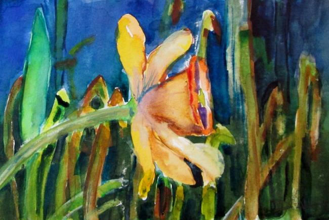 Art: Daffodil No. 5 by Artist Delilah Smith