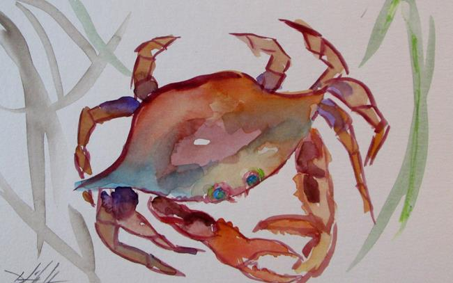 Art: Crab No. 22 by Artist Delilah Smith